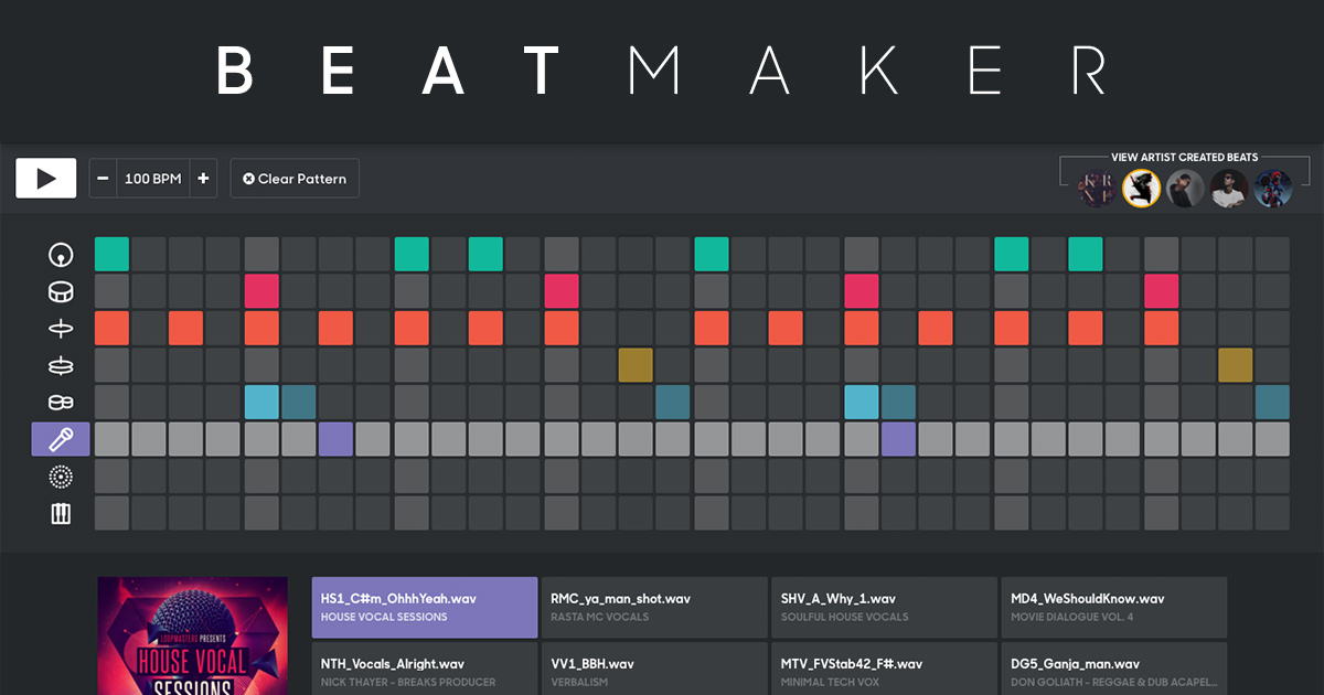 Craft & Share Your Best Beats with Splice Beat Maker