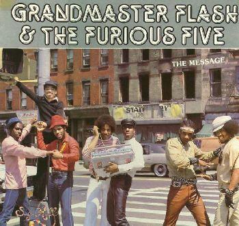 Grandmaster Flash & the Furious Five album cover