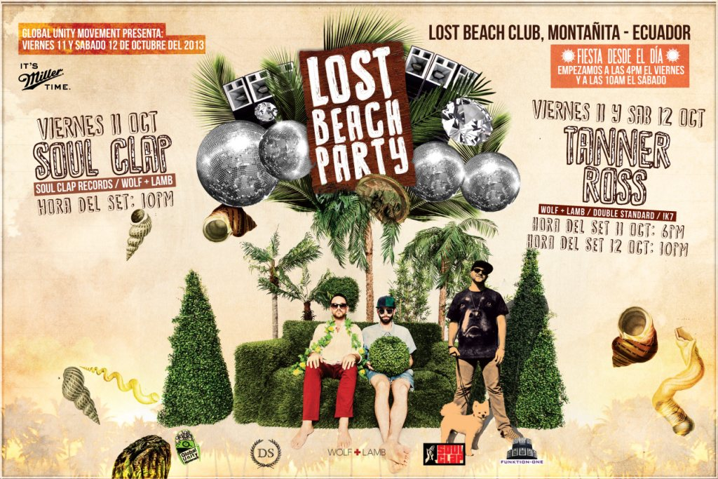 MixMonday: Soul Clap Live at Lost Beach Club, Montañita, Ecuador