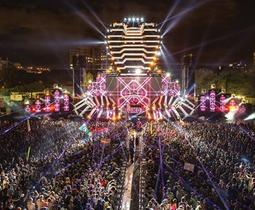 NYC Scene: Big stage at Electric Zoo. aLIVE Coverage