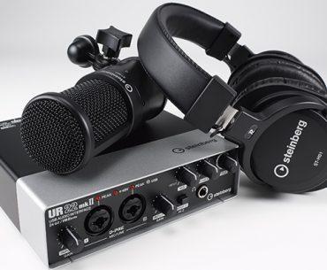 UR22mkII: Interface, headphones, mic & more.