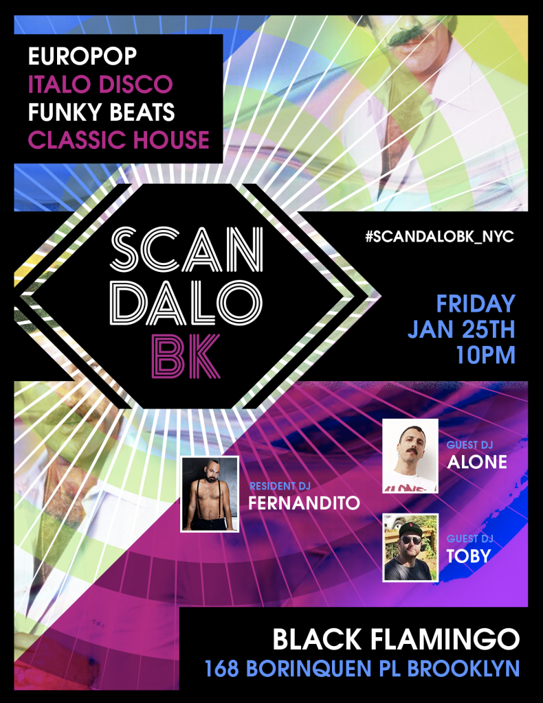 Scandalo with fernanDITO, Alone & Toby at Black Flamingo