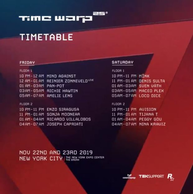 Time Warp NYC 2019
