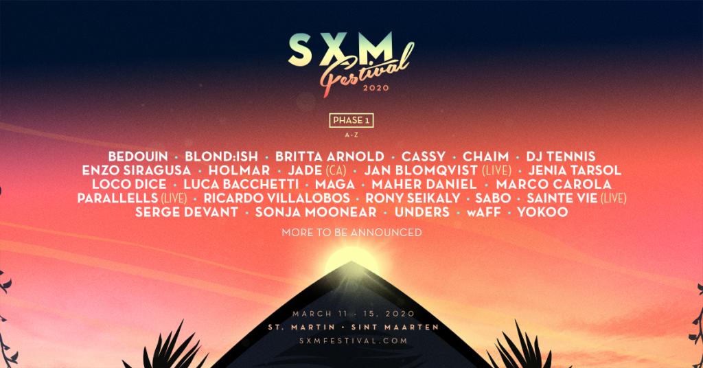 SXM Festival 2020