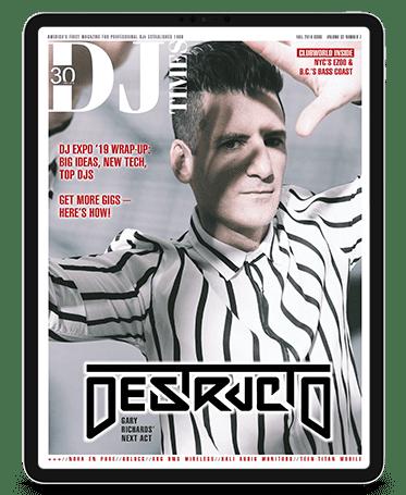 destructo dj times