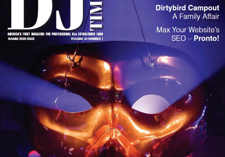 DJ Times Magazine NAMM Issue 2020