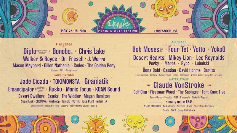 element festival lineup 2020