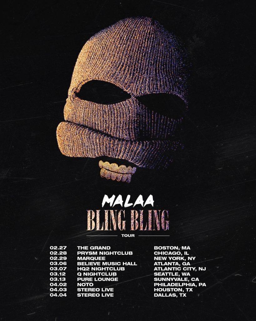 malaa tour 2020
