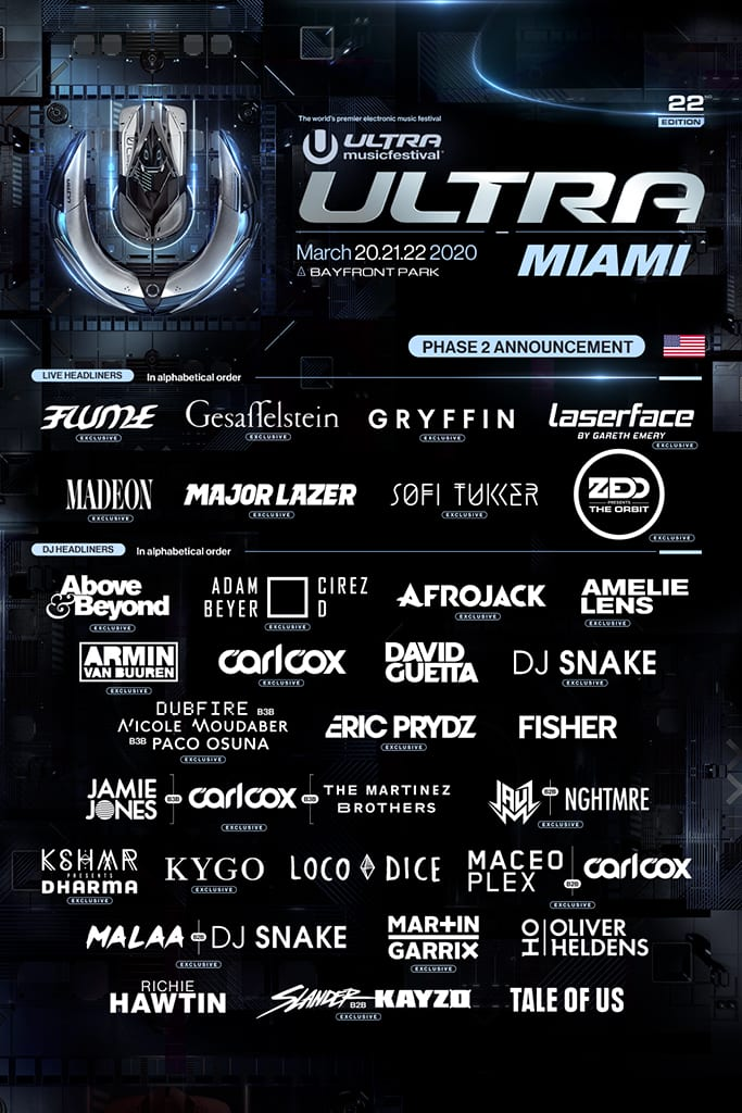 ultra music festival phase 2 2020