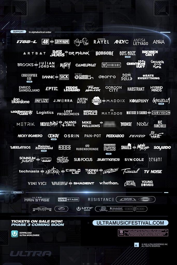ultra-music festival phase 2 2020