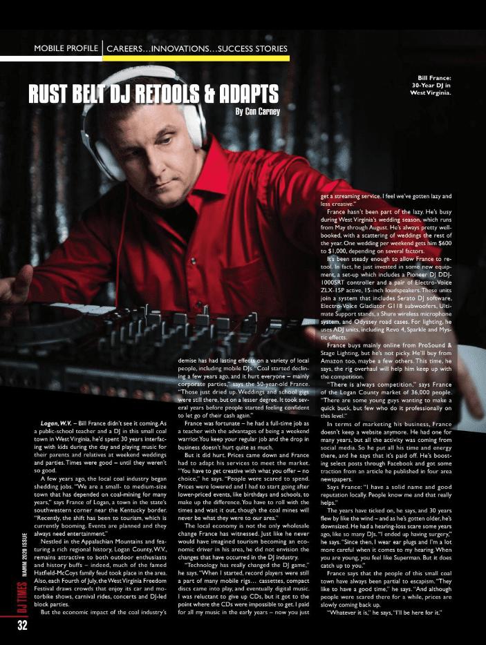 dj times article