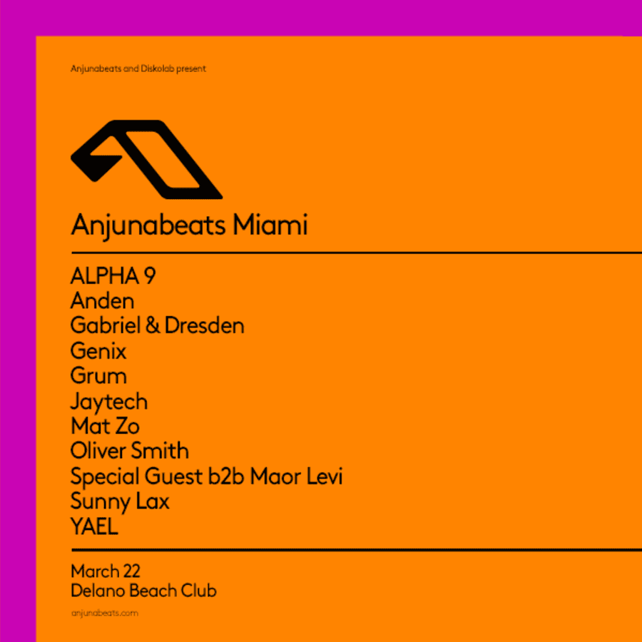 Anjunabeats Pool Party
