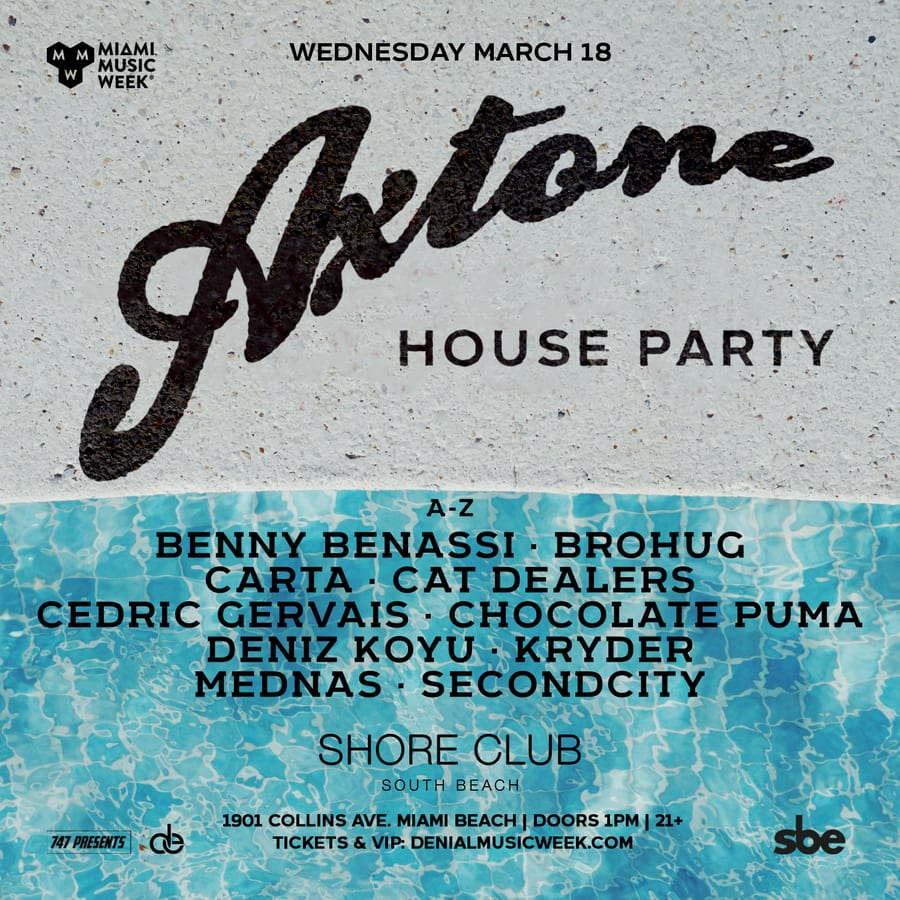 Axtone Pool Party