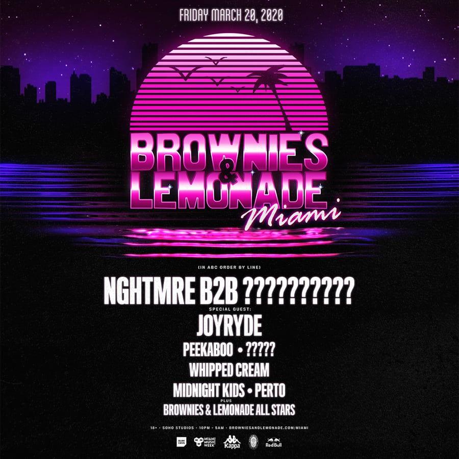 Brownies & Lemonade Miami