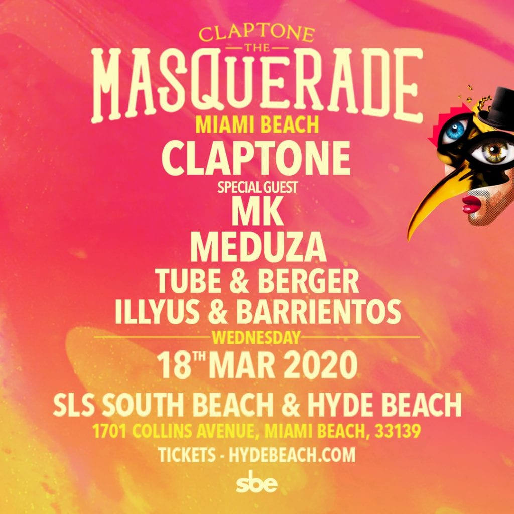 Claptone presents The Masquerade