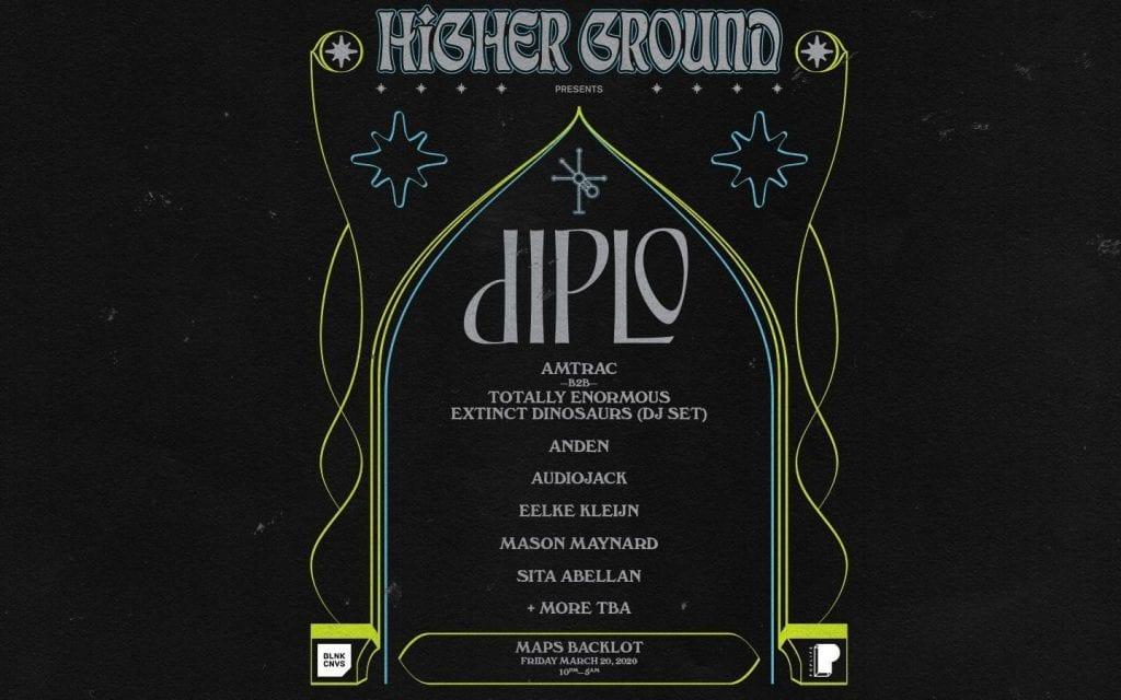 Diplo Presents Higher Ground Miami 2020