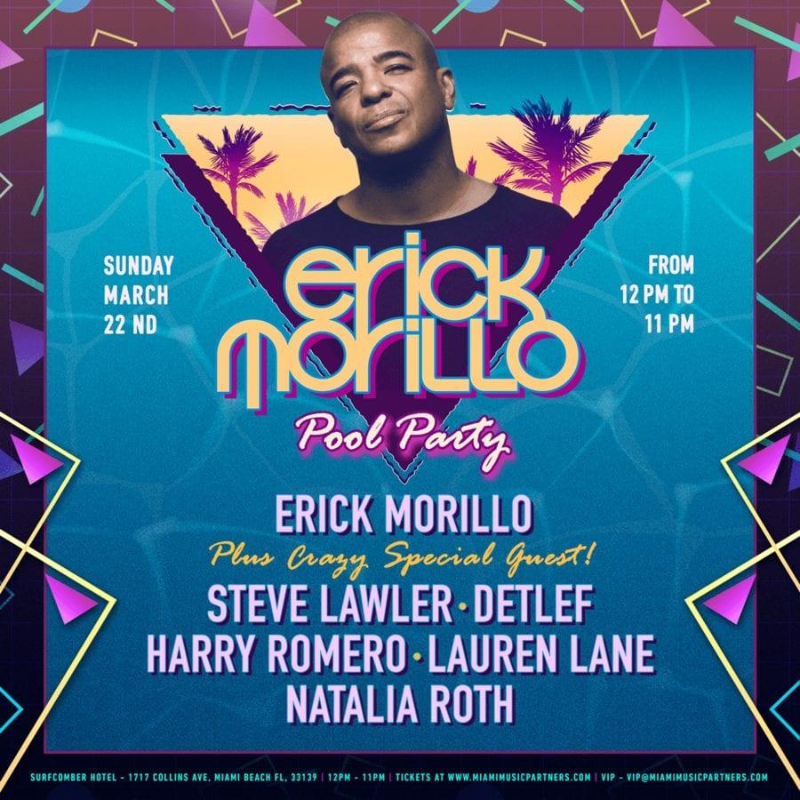 Erick Morillo Miami Pool Party 2020