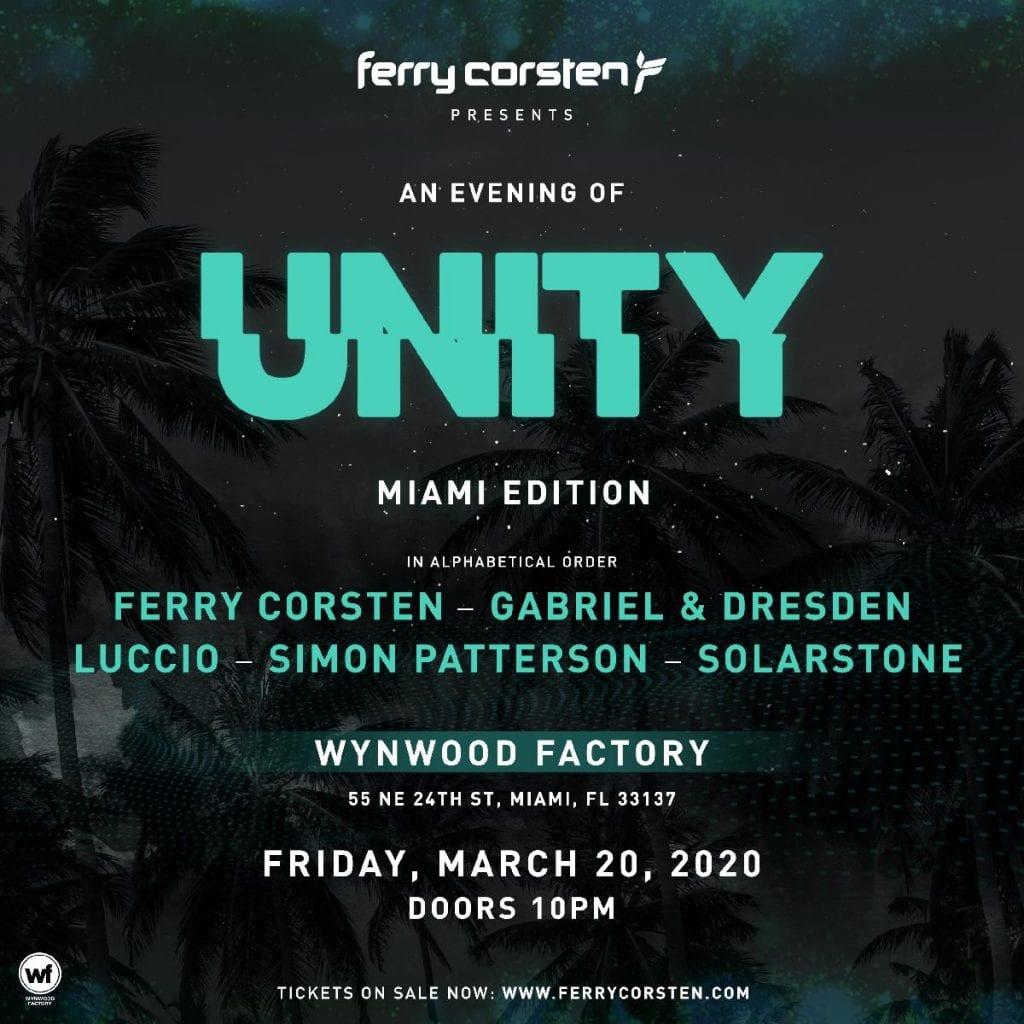 Ferry Corsten presents UNITY