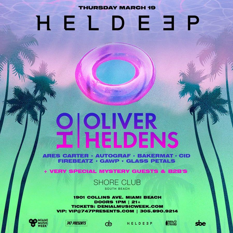 Heldeep Miami Pool Party 2020
