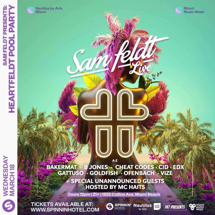 Sam Feldt presents Heartfeldt Pool Party