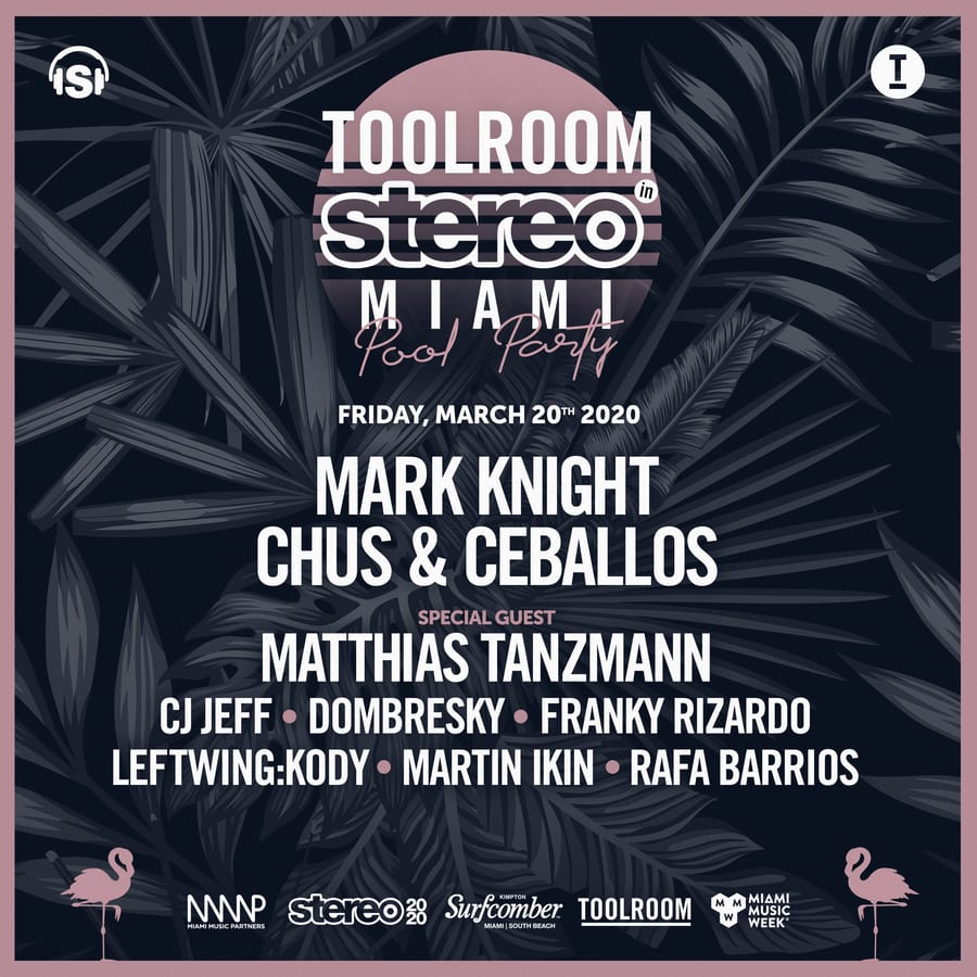 Toolroom In Stereo Miami Pool Party