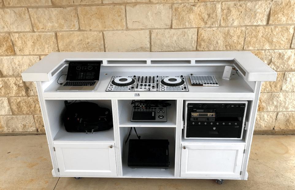custom dj console