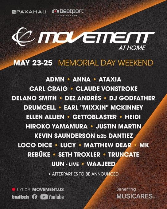 Movement Live Stream