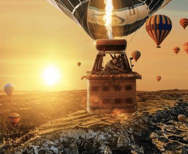 Ben Böhmer Hot Air Balloon