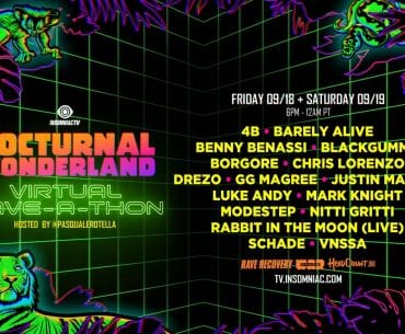Nocturnal Wonderland Virtual Rave-A-Thon