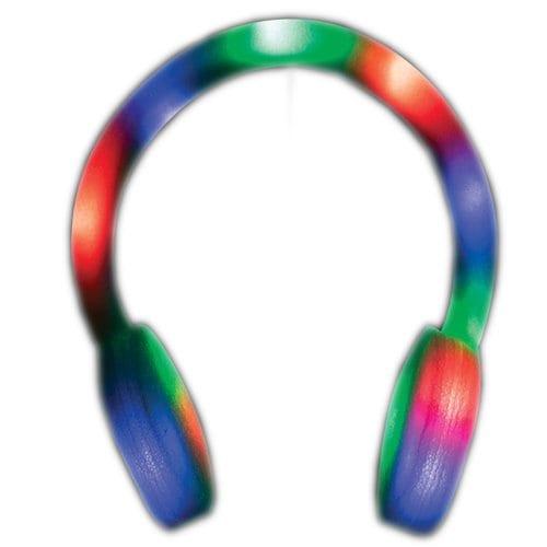 Foam LED Headphones