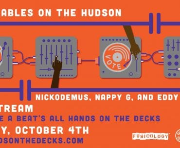 Turntables on the Hudson Give a Beat!