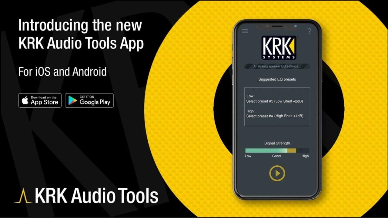 KRK Audio Tools App