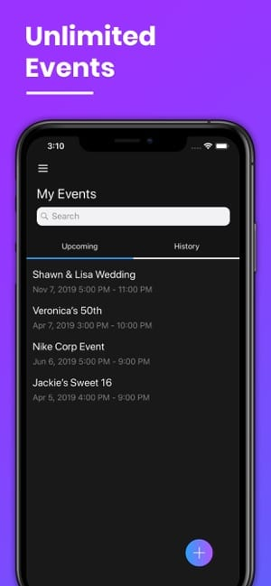MYXR Events Mobile App