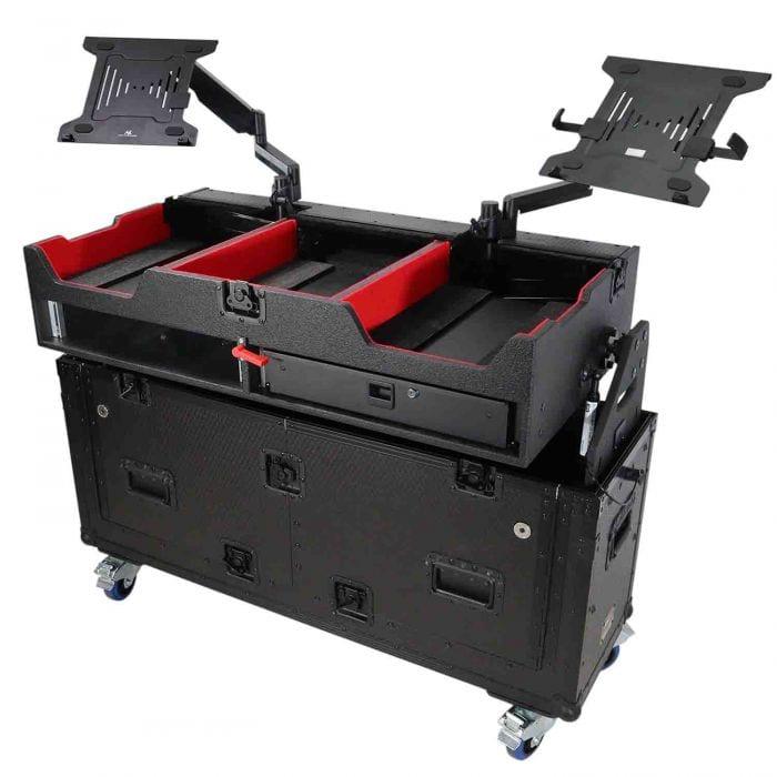 Flip-Ready Easy Retracting Hydraulic Lift Case for Pioneer CDJ-2000 System