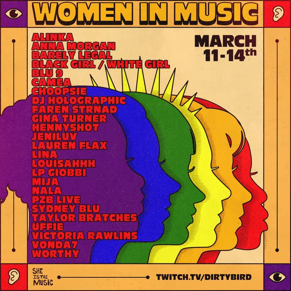 dirtybird women in music festival
