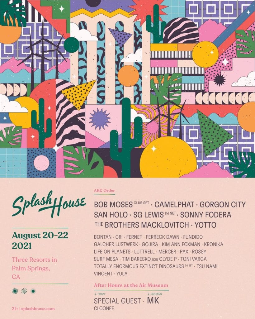 splash house august 2021 lineup
