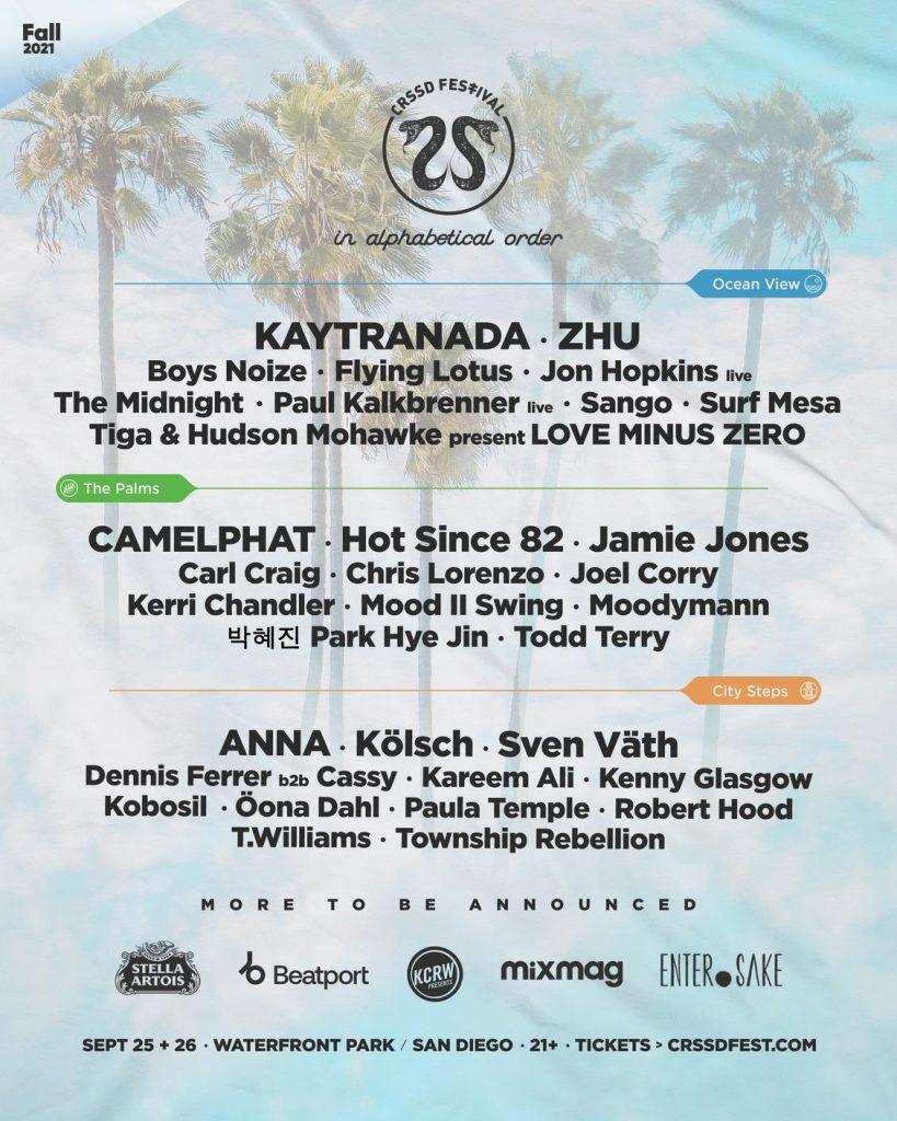 crssd festival 2021 lineup