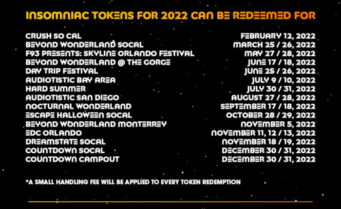 insomniac events 2022