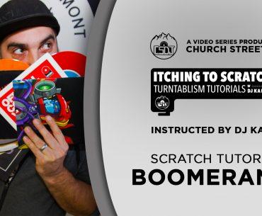 dj tutorial boomerangs